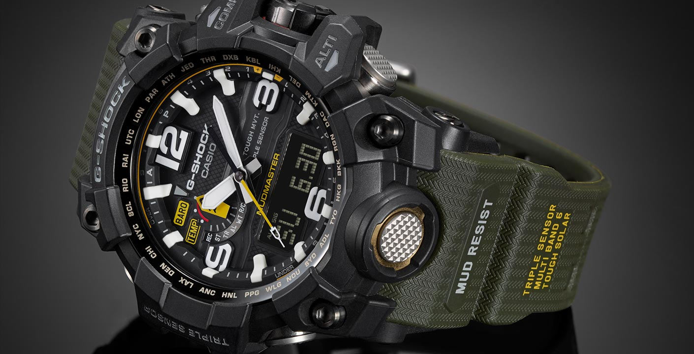 montre casio g shock mudmaster