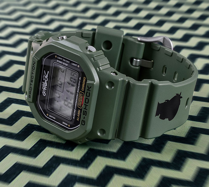 a827042f457 Gorillaz X G-SHOCK - G-TIME IS NOW