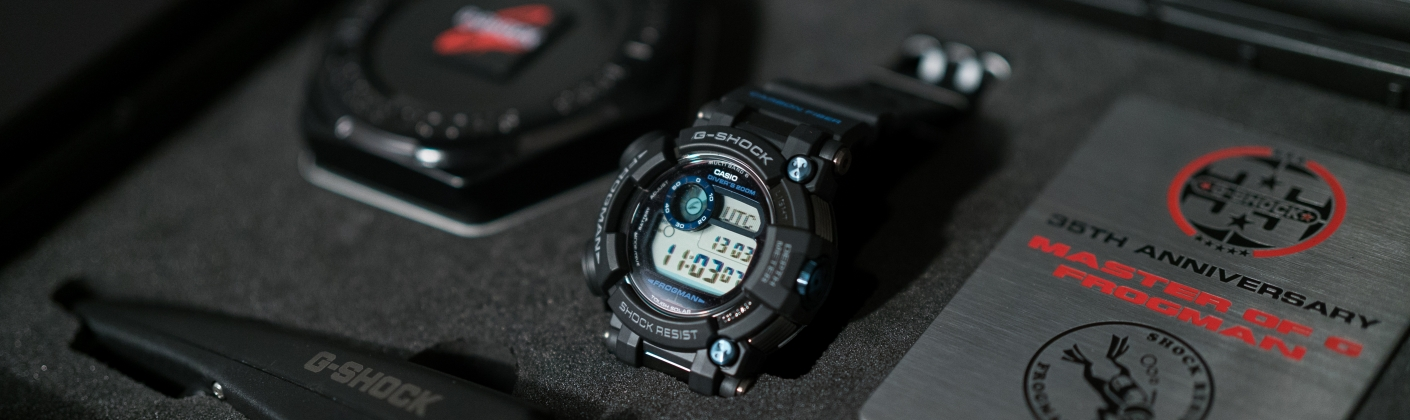 c1a2ef805c2 FROGMAN LIMITED EDITION. 35 years of G-SHOCK are honored with a special  edition