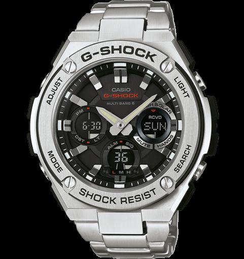 CASIO G-SHOCK Montre - GST-W110D-1AER noir