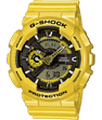 CASIO G-SHOCK Watch - GA-110NM-9AER yellow or gold