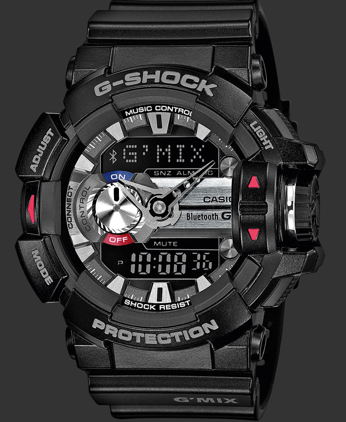 G-Shock pour un anniversaire GBA-400-1AER